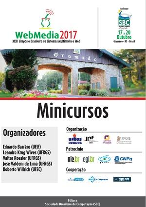 Capa para Minicursos do XXIII Simpósio Brasileiro de Sistemas Multimídia e Web