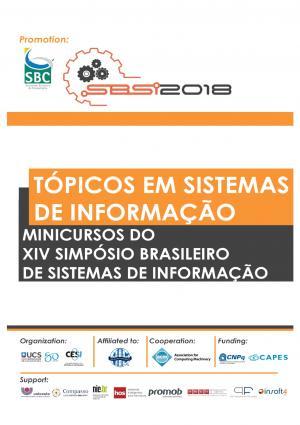 Capa para Tópicos em Sistemas de Informação: Minicursos SBSI 2018