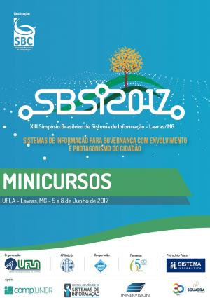 Capa para Tópicos em Sistemas de Informação: Minicursos SBSI 2017