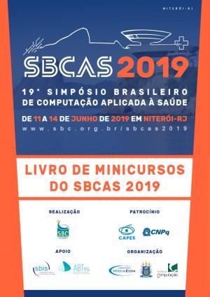 Capa para Minicursos do Simpósio Brasileiro de Computação Aplicada à Saúde 2019