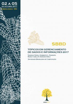 Capa para Tópicos em Gerenciamento de Dados e Informações: Minicursos do SBBD 2017