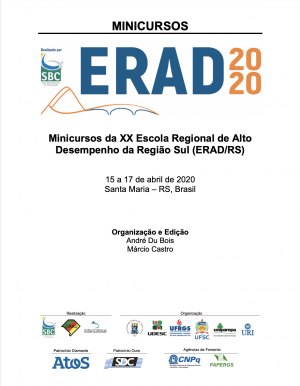 Capa para Minicursos da XX Escola Regional de Alto Desempenho da Região Sul