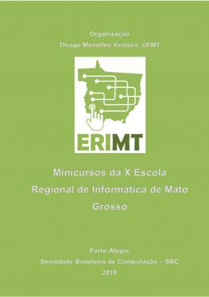 Capa para Minicursos da X Escola Regional de Informática de Mato Grosso