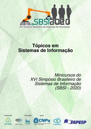 Capa para Tópicos em Sistemas de Informação: Minicursos do SBSI 2020