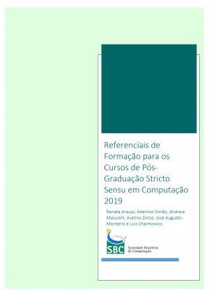Capa para Referenciais de Formação para os Cursos de Pós-Graduação Stricto Sensu em Computação 2019