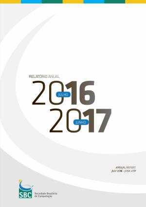 Capa para Relatório Anual da SBC 2016-2017