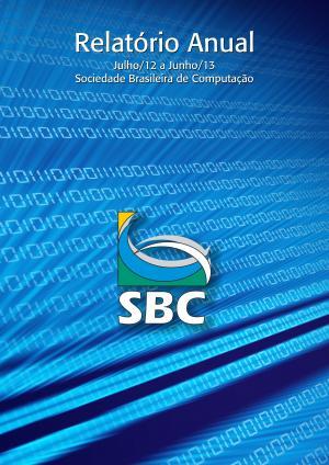 Capa para Relatório Anual da SBC 2012-2013