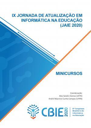 Capa para IX Jornada de Atualização em Informática na Educação (JAIE 2020)