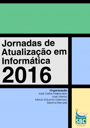 Capa para Jornadas de Atualização em Informática 2016