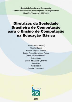 Capa para Diretrizes da Sociedade Brasileira de Computação para o Ensino de Computação na Educação Básica