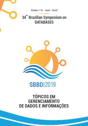 Capa para Tópicos em Gerenciamento de Dados e Informações: Minicursos do SBBD 2019