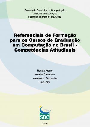 Capa para Referenciais de Formação para os Cursos de Graduação em Computação no Brasil - Competências Atitudinais