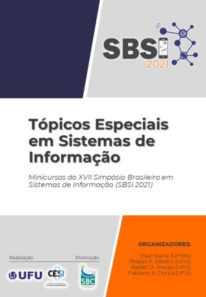 Capa para Tópicos Especiais em Sistemas de Informação: Minicursos SBSI 2021