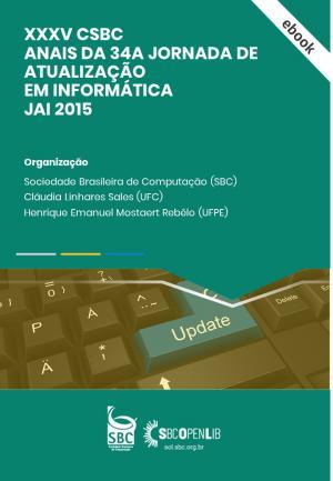 Capa para Jornada de Atualização em Informática 2015
