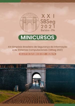 Capa para Minicursos do XXI Simpósio Brasileiro de Segurança da Informação e de Sistemas Computacionais