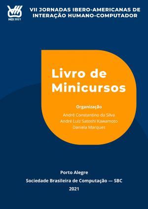 Capa para Minicursos da VII Jornadas Ibero-Americanas de Interação Humano-Computador