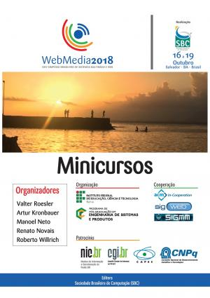Capa para Minicursos do XXIV Simpósio Brasileiro de Sistemas Multimídia e Web